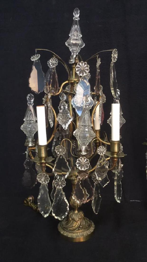 Pair French Antique Girandoles - 2