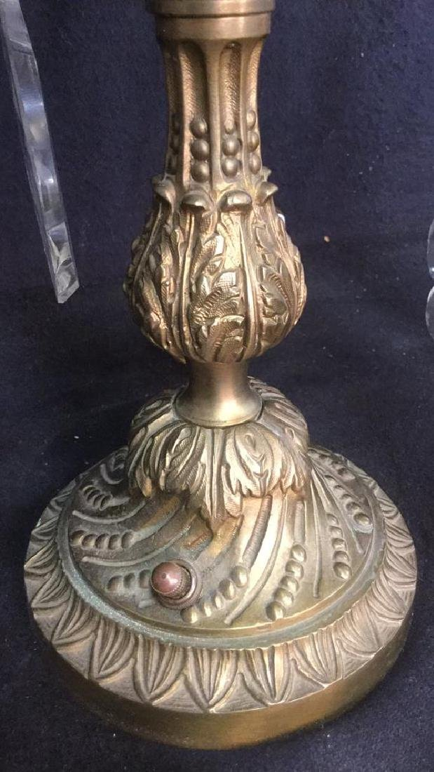 Pair French Antique Girandoles - 7