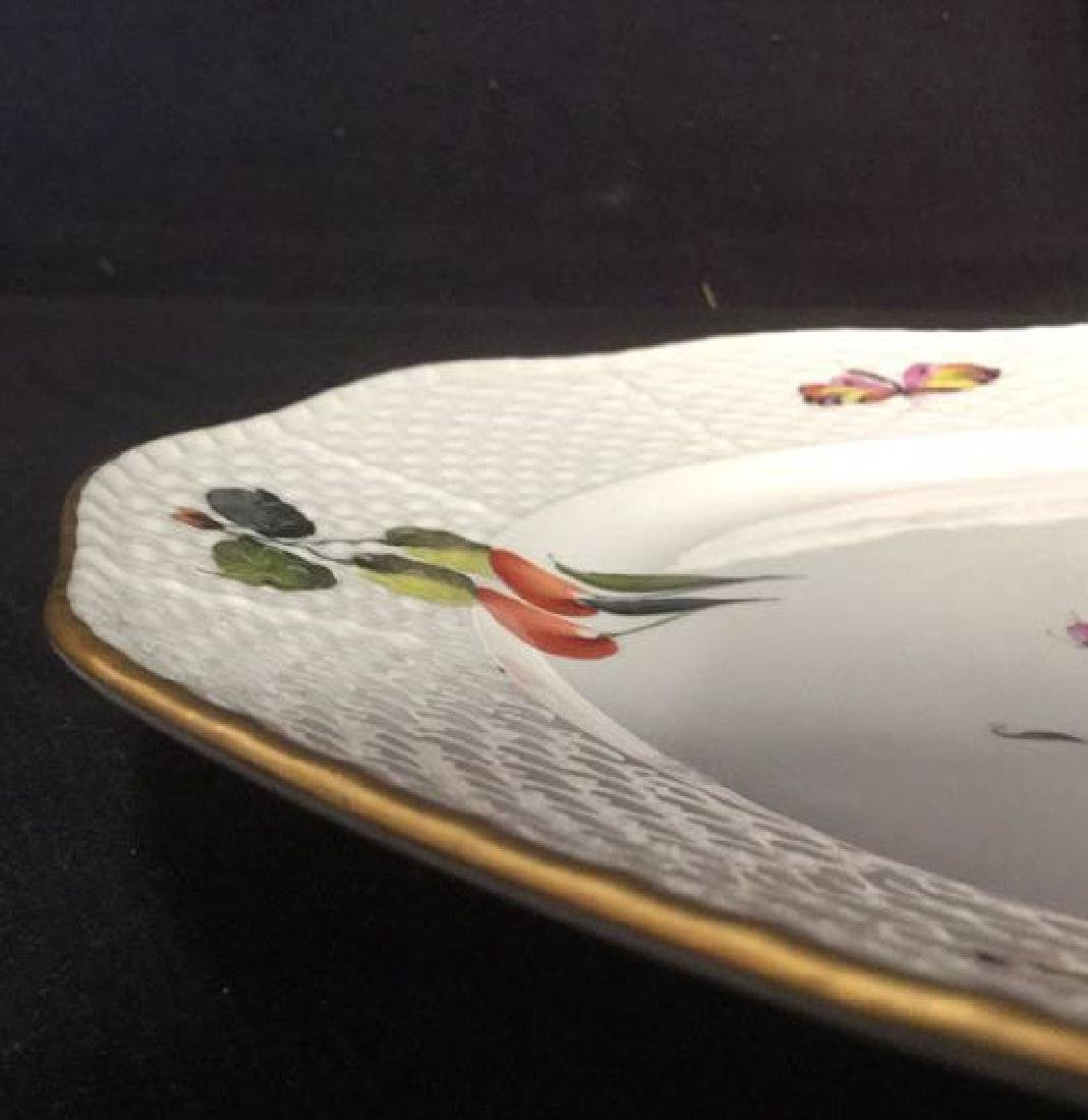 Handpainted HEREND HUNGARY Serving Plate - 7