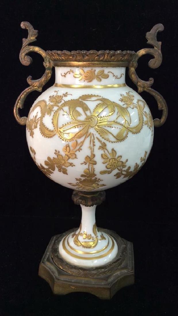 Antique French Decorative Arts Vase - 6