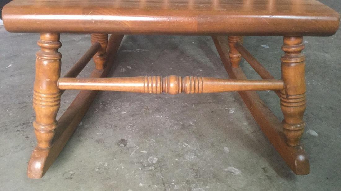 Child's Wooden Rocking Chair - 5