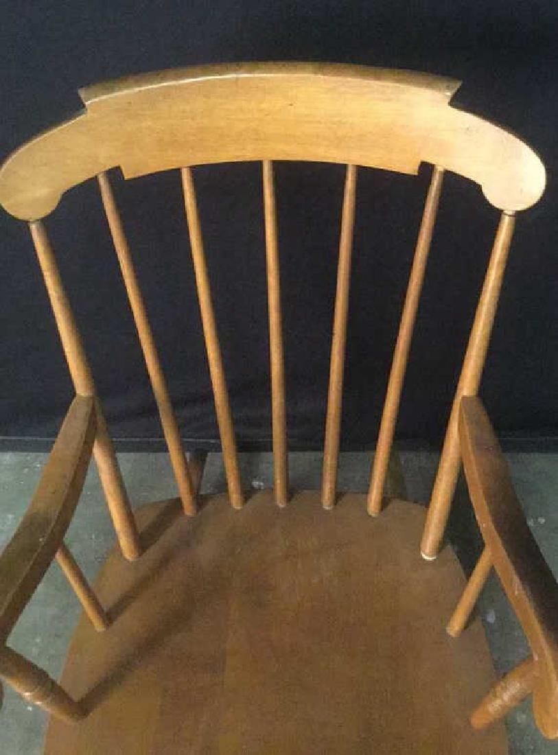 Child's Wooden Rocking Chair - 8