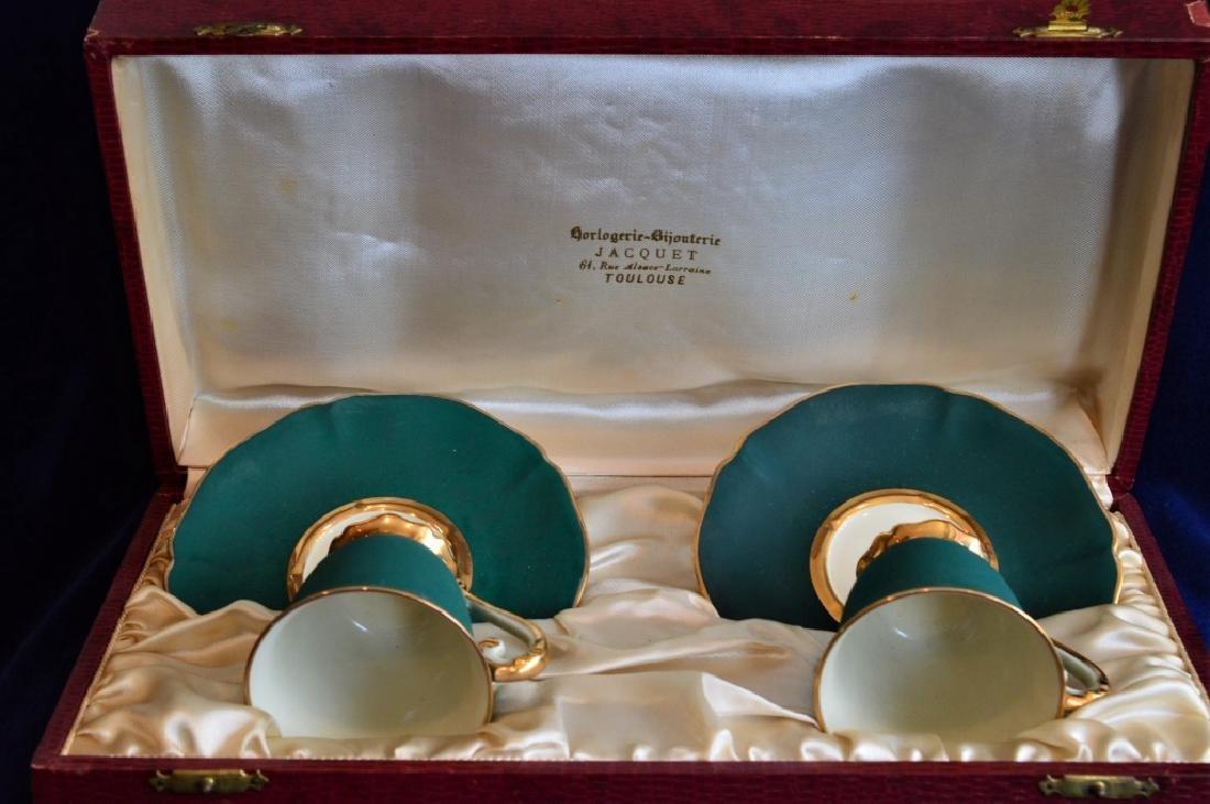 Antique Demitasse Cup & Saucer Set