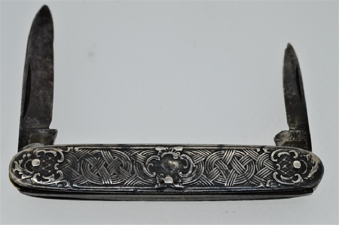 Vintage Fancy Sterling Solingen Pocketknife