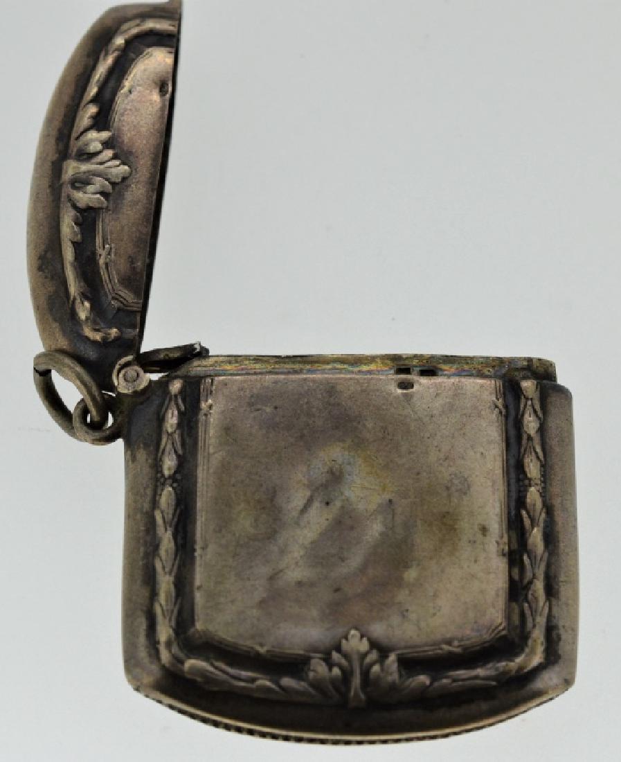 19th Century Silver Match Safe - 2