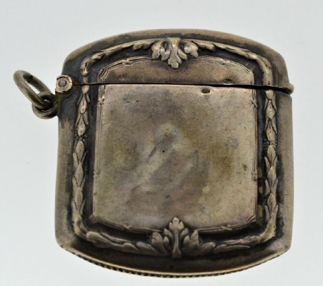 19th Century Silver Match Safe - 3