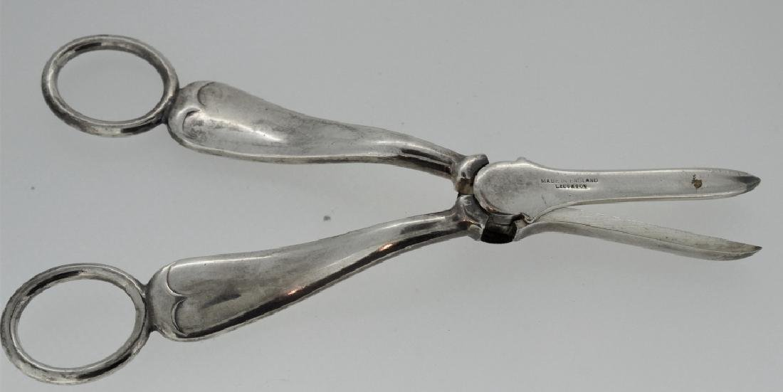 Silver-plated Vintge Grape Scissors - 2