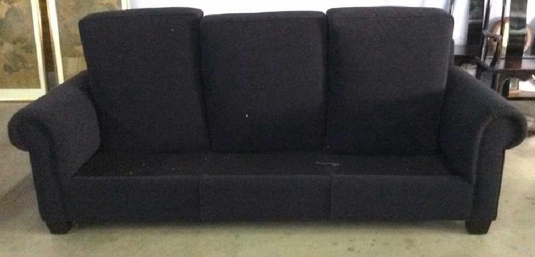Lot 4 ARTISTIC FRAME Wool Sofa & Pillows - 5