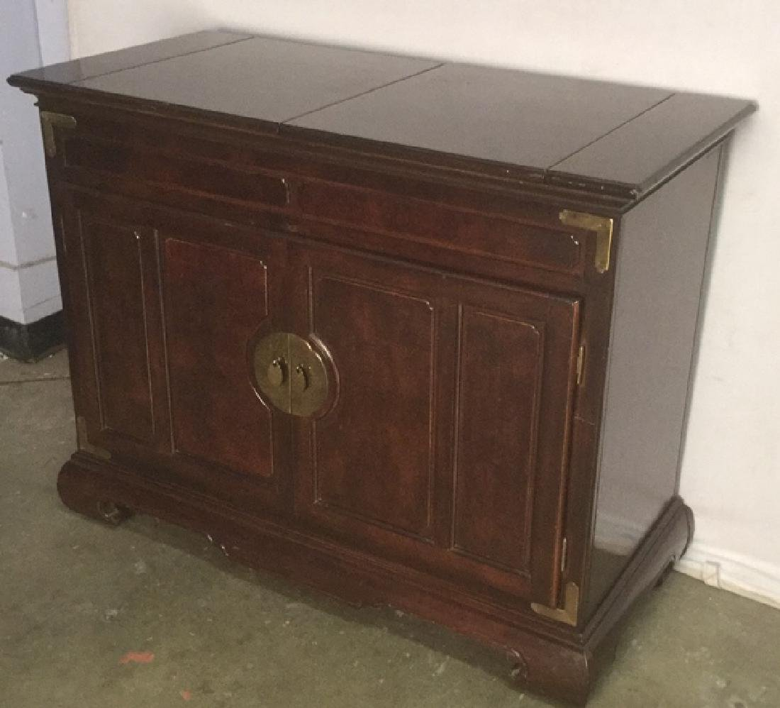 Chinese Oriental Style Fold Out Bar Chest - 3