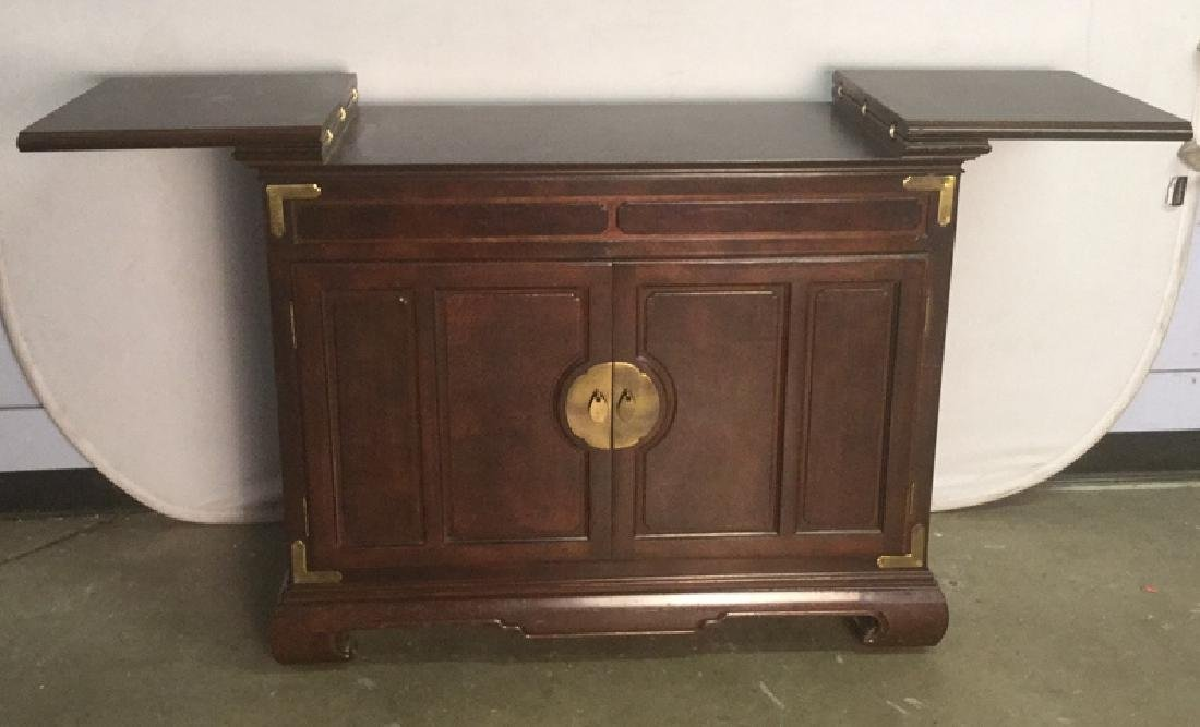Chinese Oriental Style Fold Out Bar Chest - 4