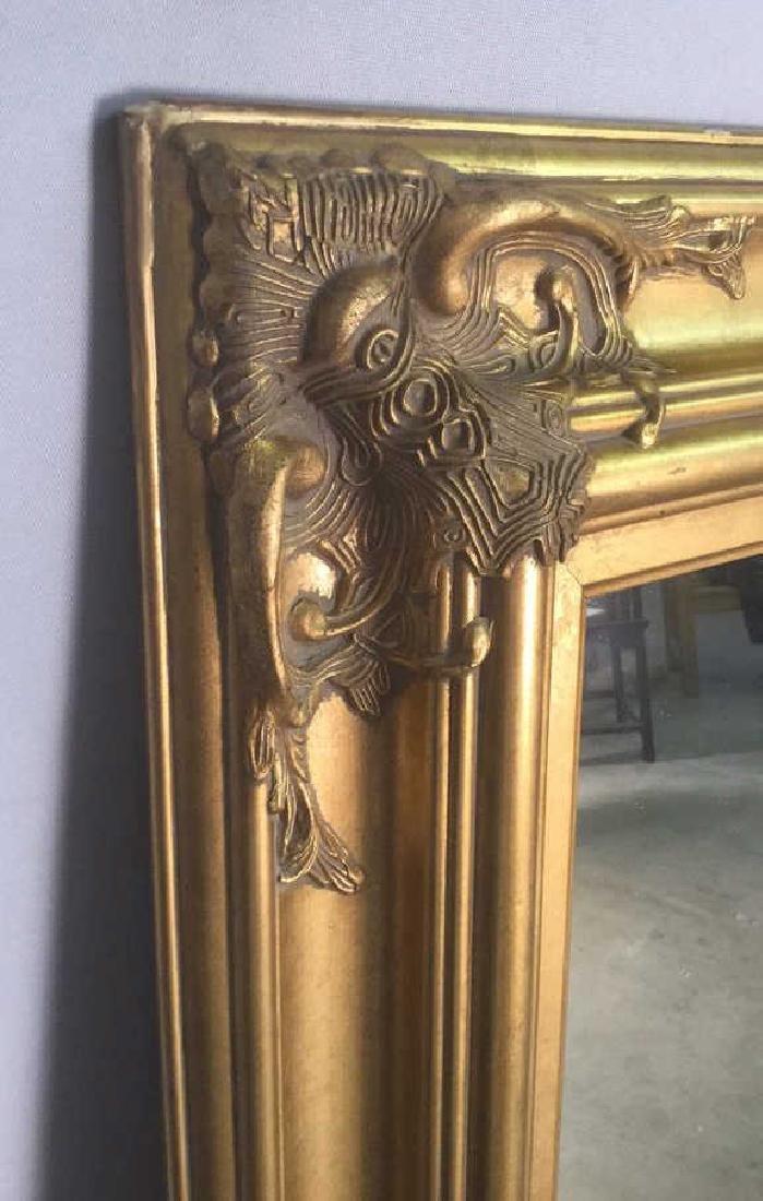 Carved Oriental Style Gilt Mirror - 3