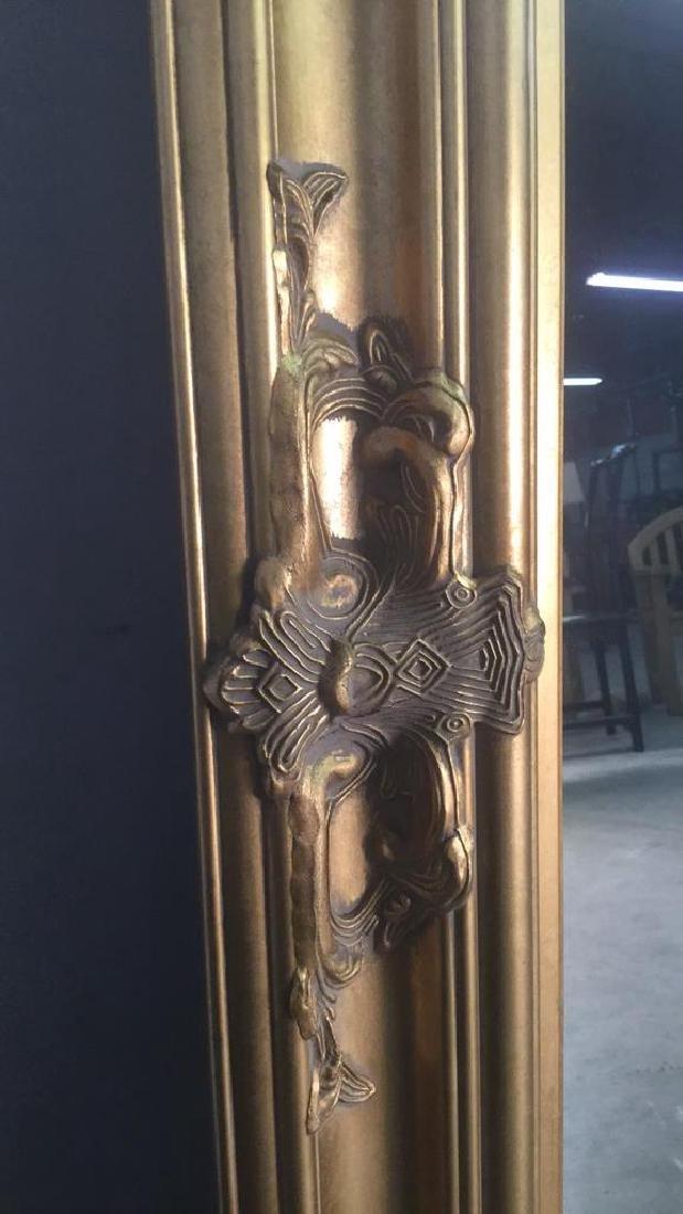 Carved Oriental Style Gilt Mirror - 4