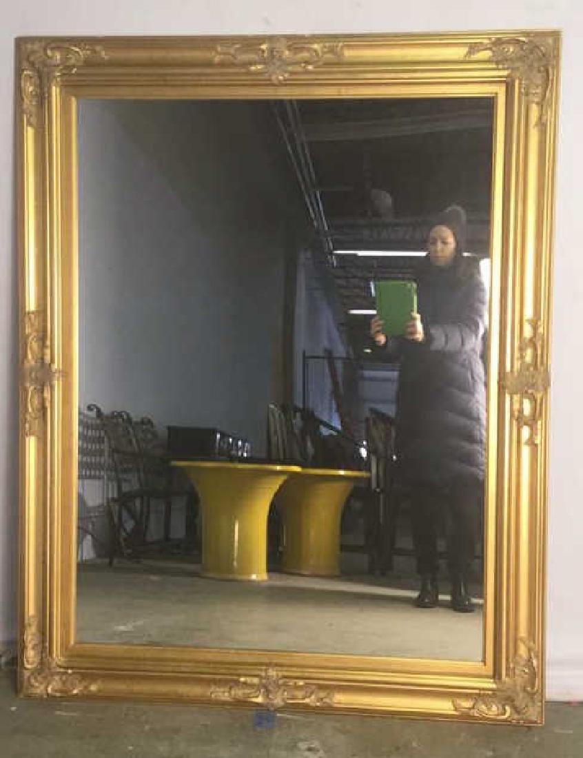 Carved Oriental Style Gilt Mirror - 7