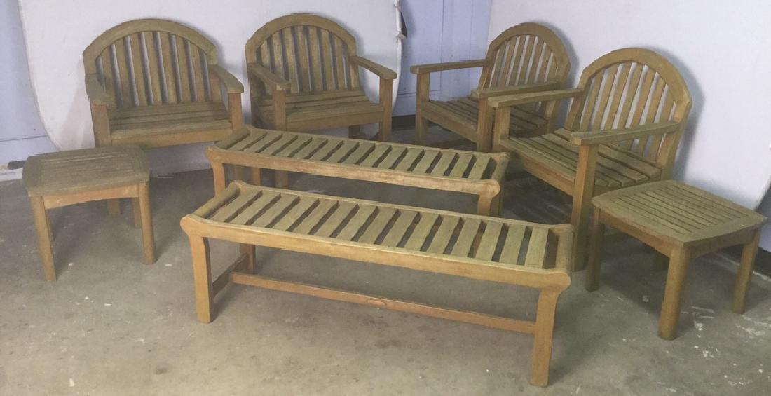 Lot 8 Smith & Hawkins Teak Furniture