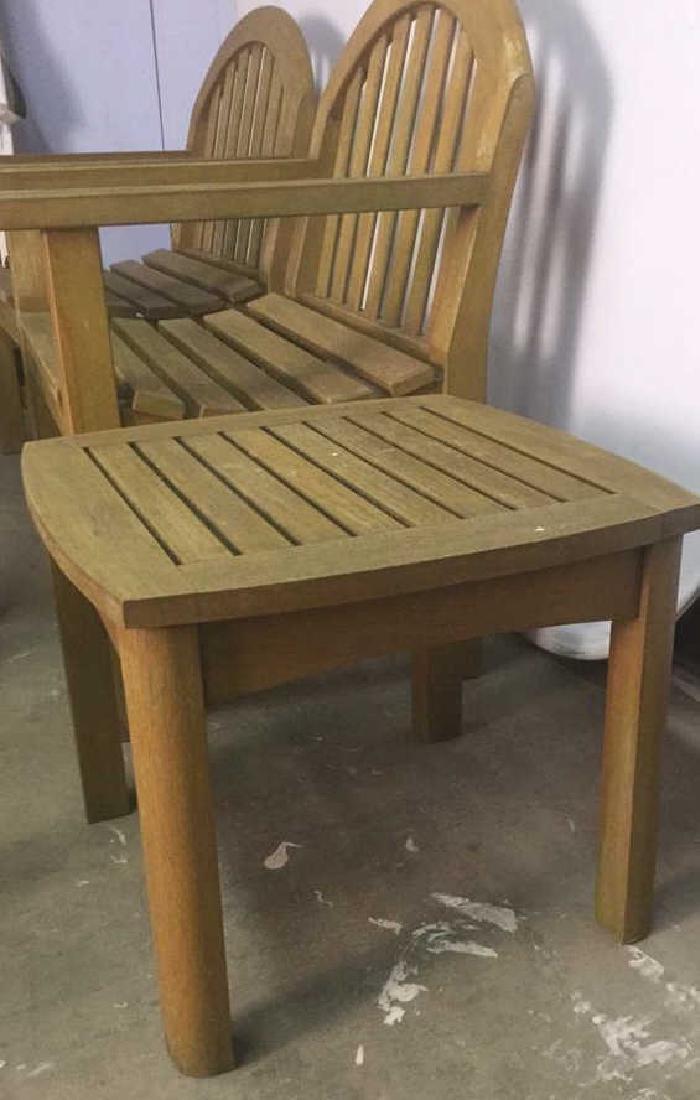 Lot 8 Smith & Hawkins Teak Furniture - 2