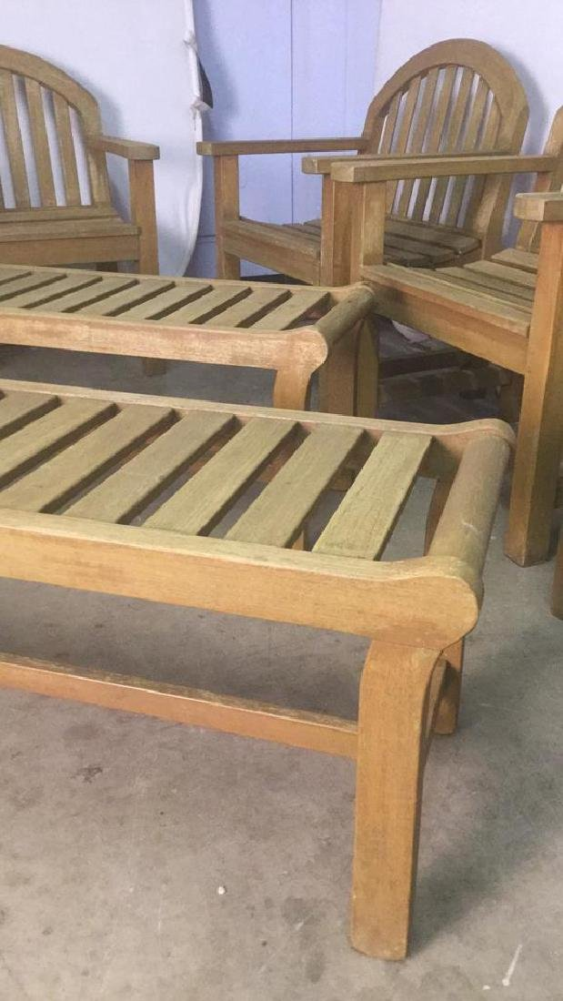 Lot 8 Smith & Hawkins Teak Furniture - 3