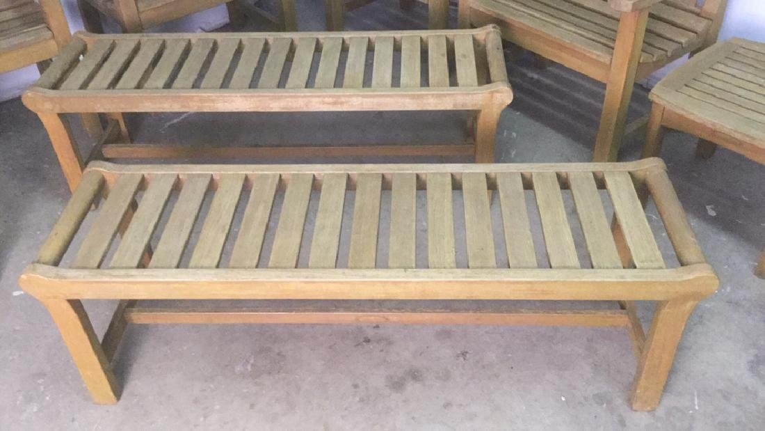 Lot 8 Smith & Hawkins Teak Furniture - 4
