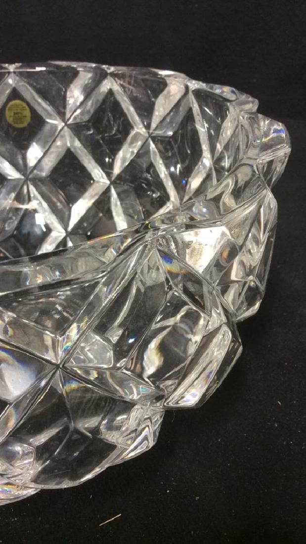 ROYAL CRYSTAL ROCK Italian Crystal Bowl - 10