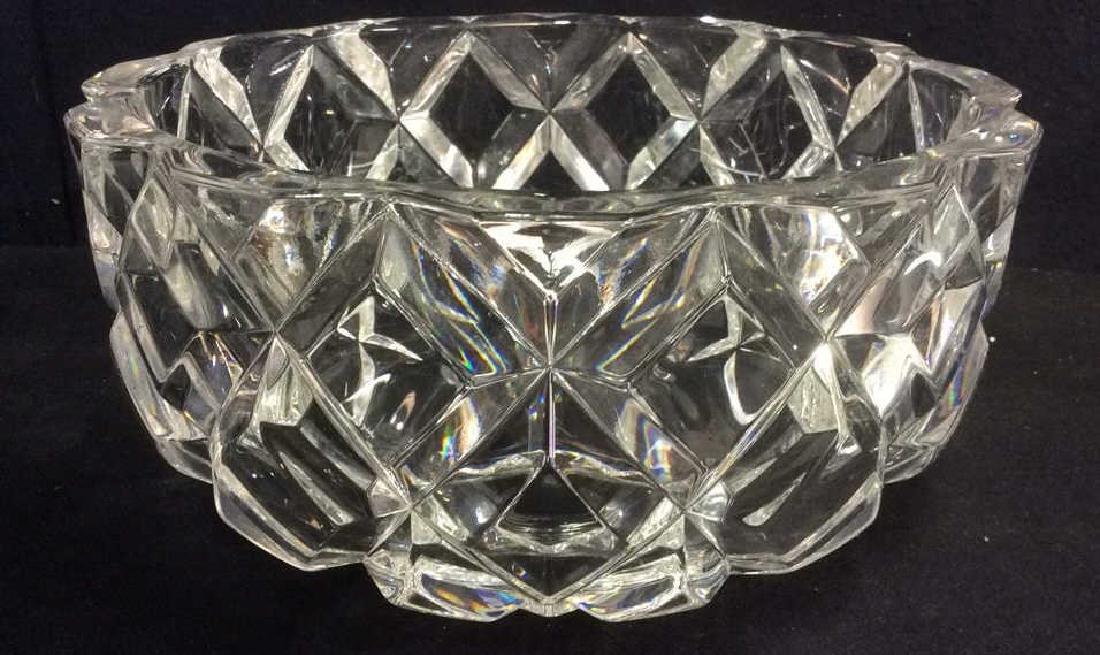 ROYAL CRYSTAL ROCK Italian Crystal Bowl