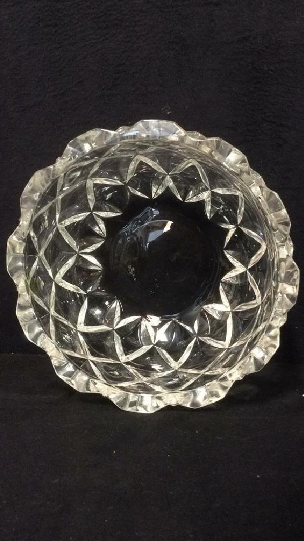 ROYAL CRYSTAL ROCK Italian Crystal Bowl - 5