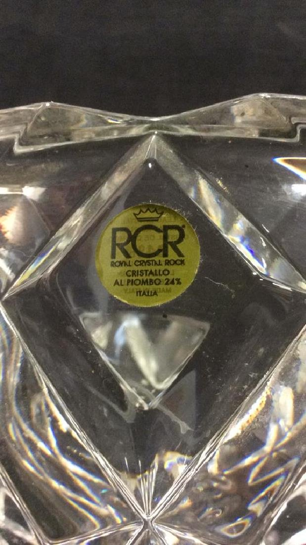 ROYAL CRYSTAL ROCK Italian Crystal Bowl - 7