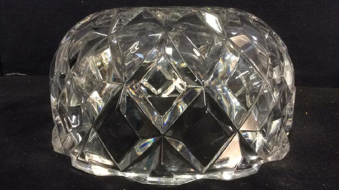 ROYAL CRYSTAL ROCK Italian Crystal Bowl - 9