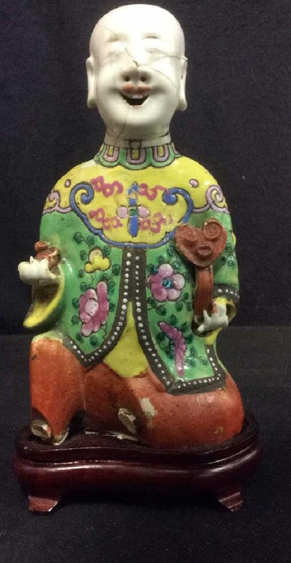Vintage Asian Style Porcelain Figural
