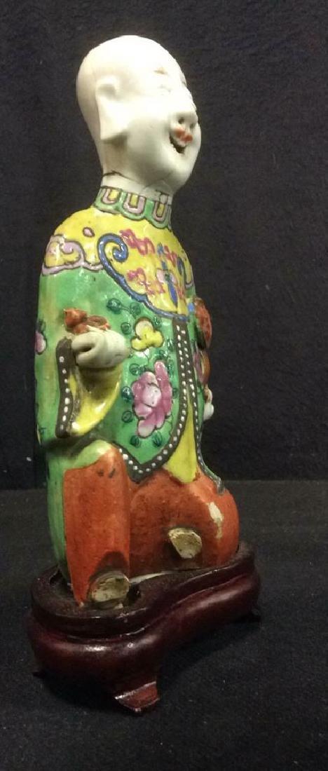 Vintage Asian Style Porcelain Figural - 2