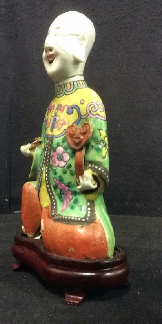 Vintage Asian Style Porcelain Figural - 3