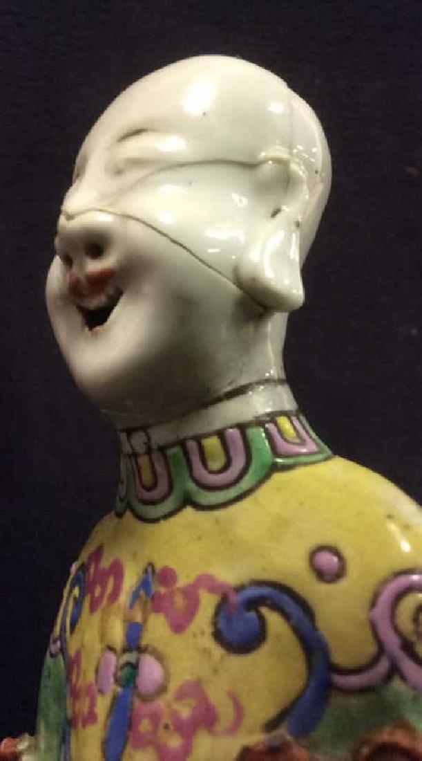 Vintage Asian Style Porcelain Figural - 9