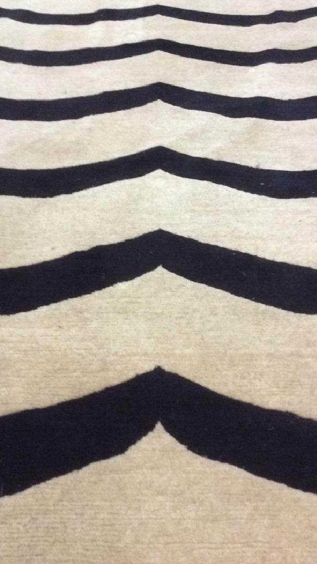 Handmade BUSY TIGER Living Room Wool Rug - 10