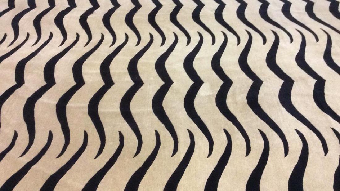 Handmade BUSY TIGER Living Room Wool Rug