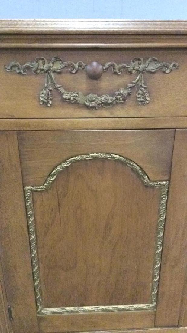 Vintage Carved Gilded Wooden Dresser - 2