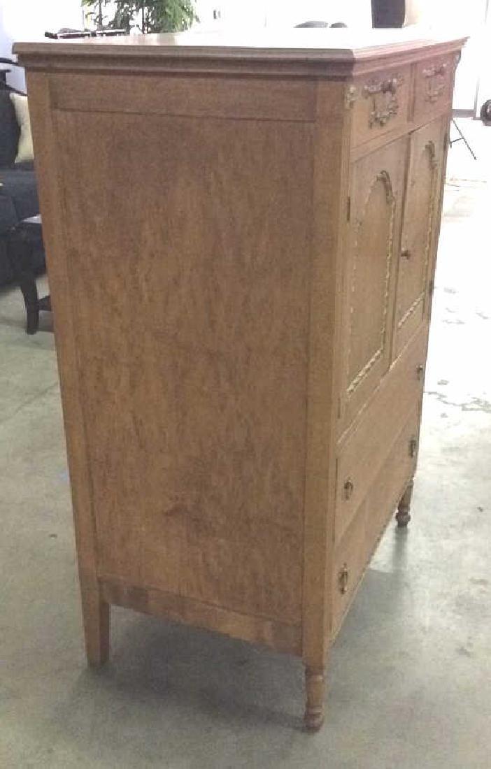 Vintage Carved Gilded Wooden Dresser - 3