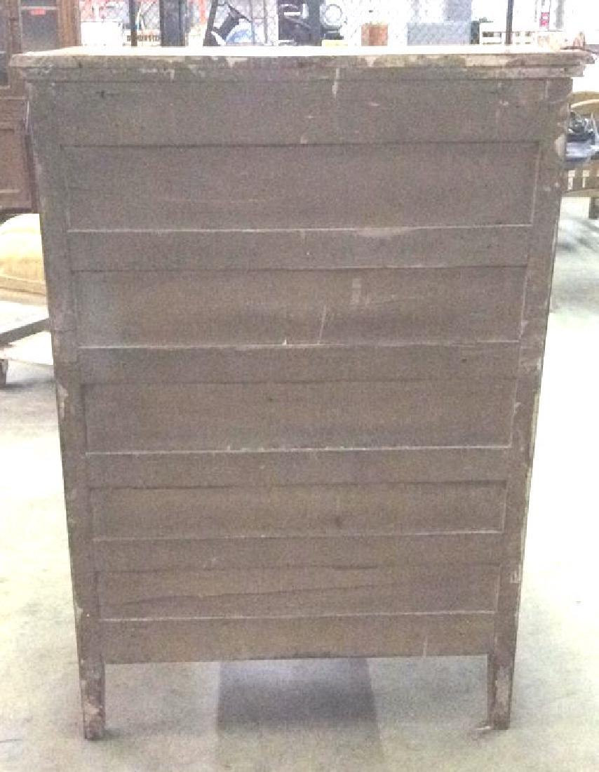 Vintage Carved Gilded Wooden Dresser - 4