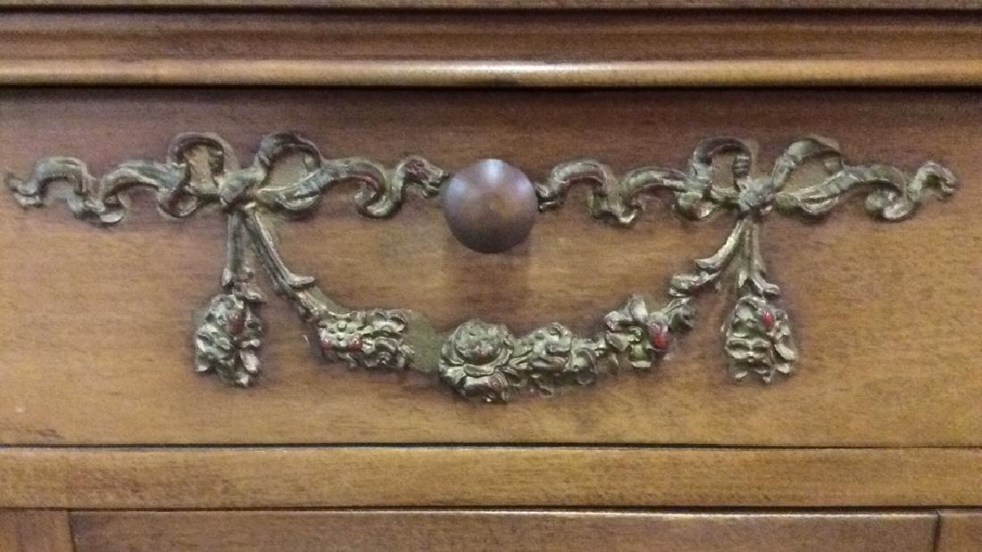 Vintage Carved Gilded Wooden Dresser - 8