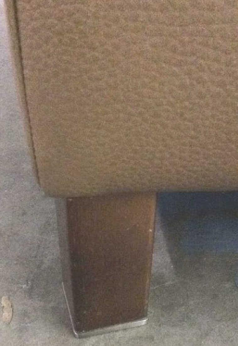 BLOOMINGDALES Tan Leather Sofa Sectional - 9