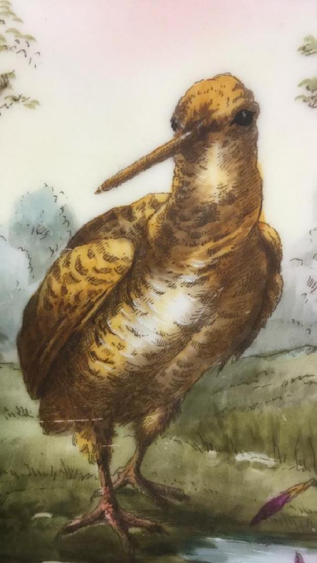 Lot 2 CH Field Haviland Limoges Bird Plates - 8