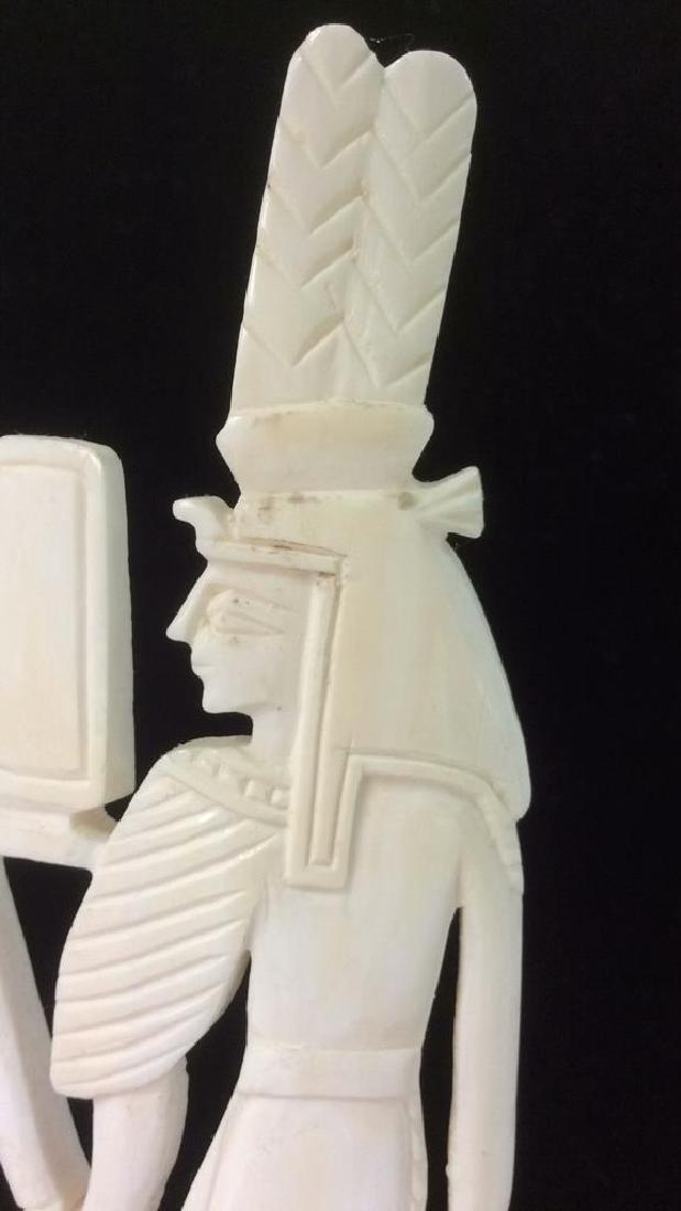 Egyptian Style Alabaster Sculpture - 3