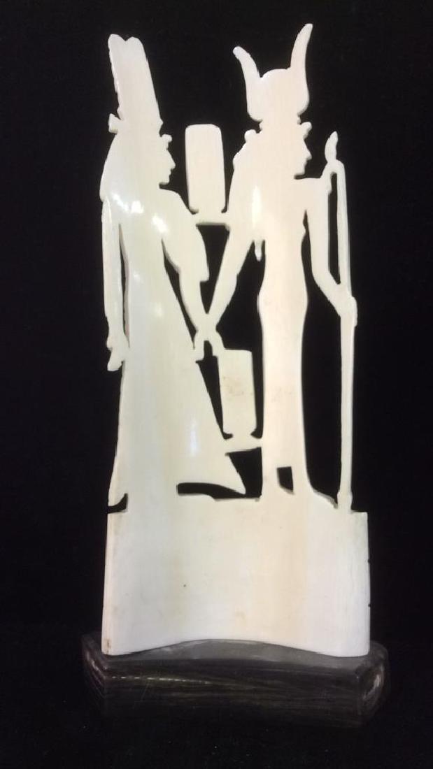 Egyptian Style Alabaster Sculpture - 4