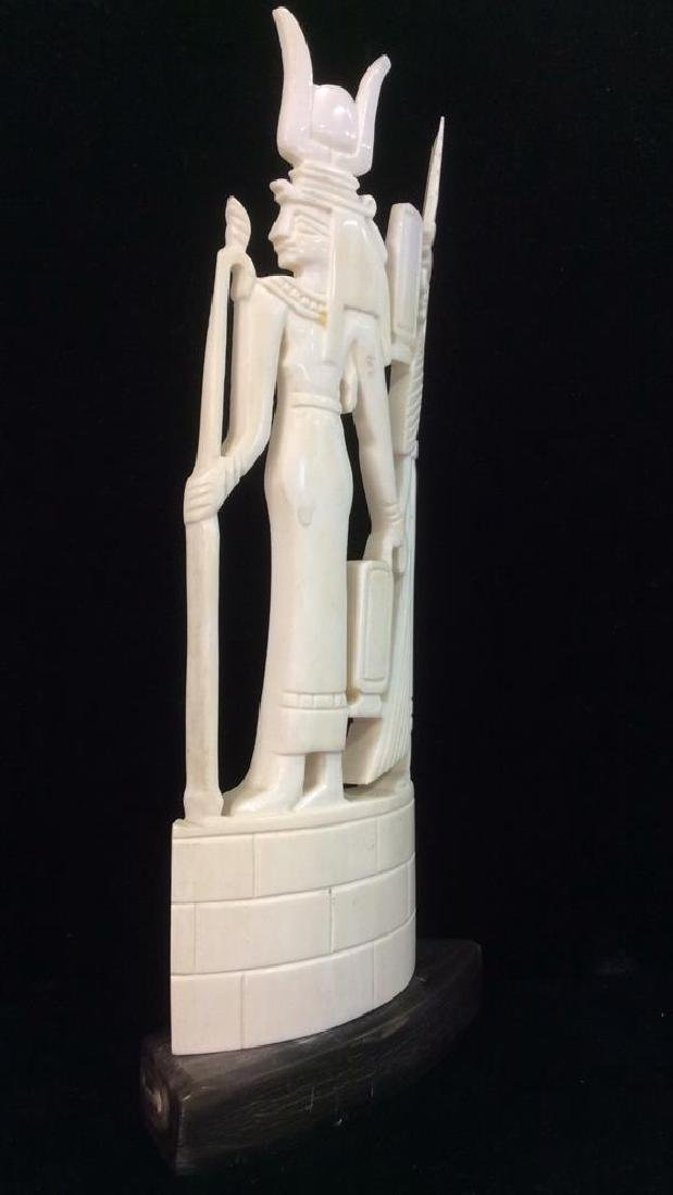 Egyptian Style Alabaster Sculpture - 5