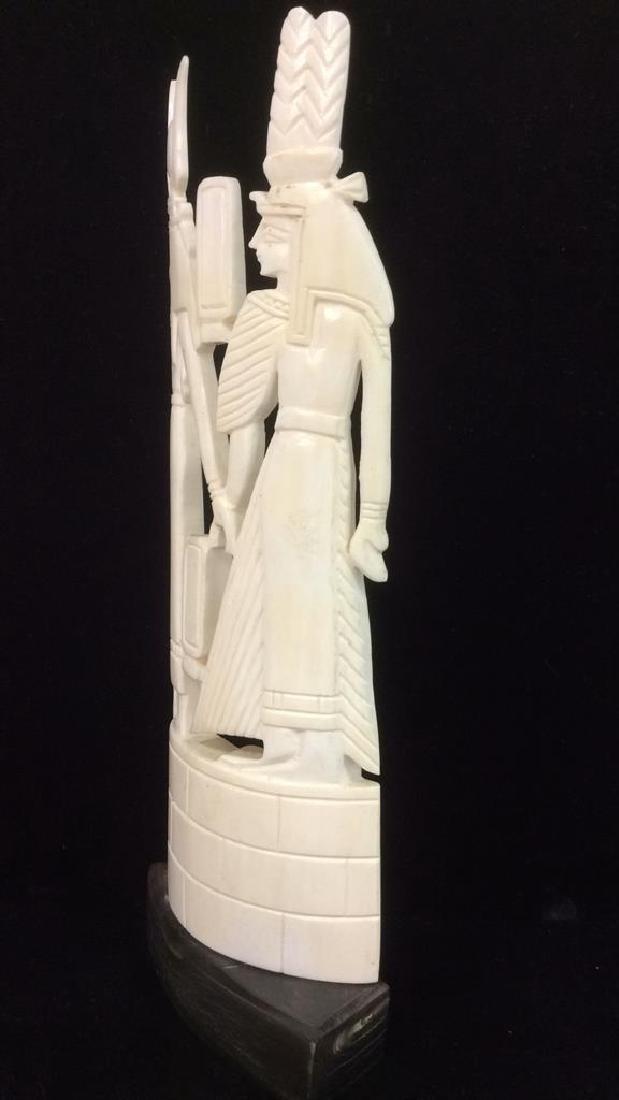 Egyptian Style Alabaster Sculpture - 6