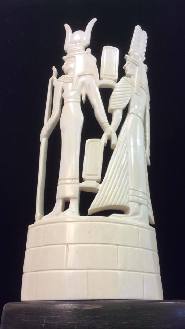 Egyptian Style Alabaster Sculpture - 7