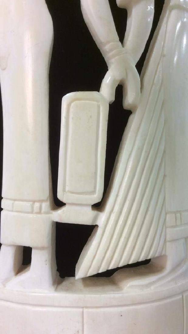 Egyptian Style Alabaster Sculpture - 8