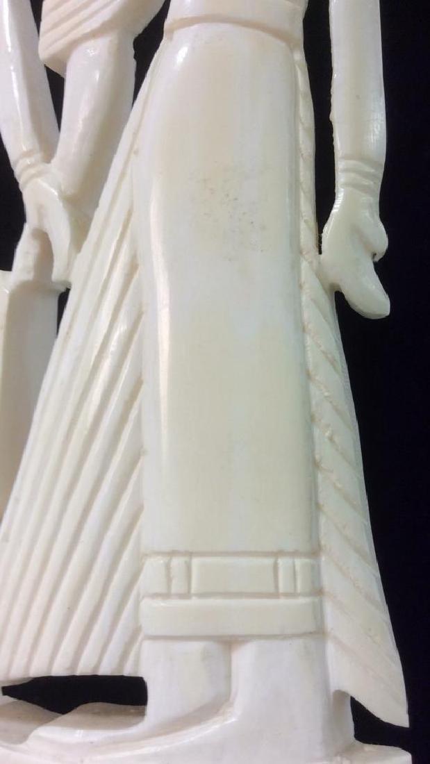 Egyptian Style Alabaster Sculpture - 9