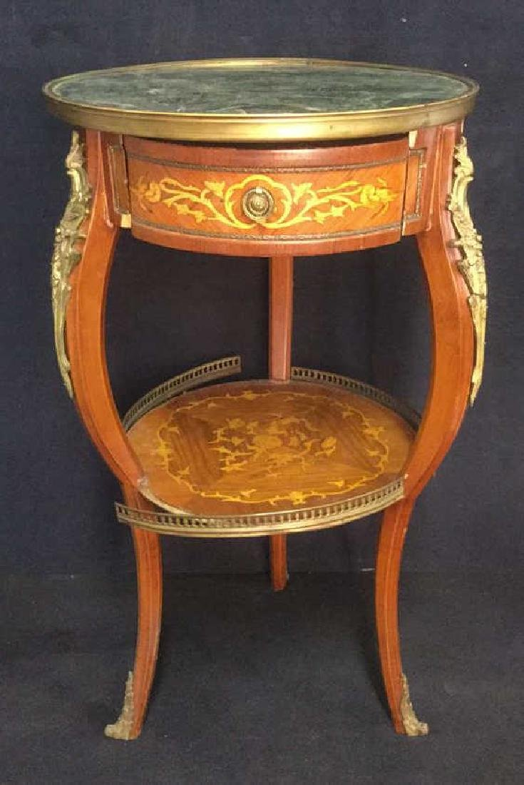 French Louis The XVI Style Antique GueridonTable