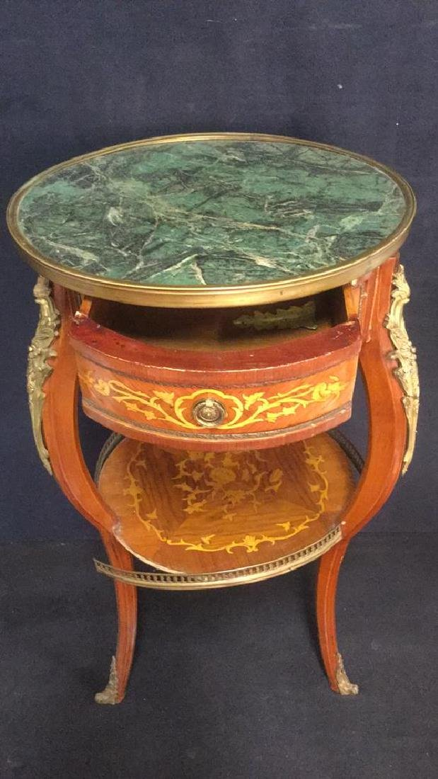 French Louis The XVI Style Antique GueridonTable - 7