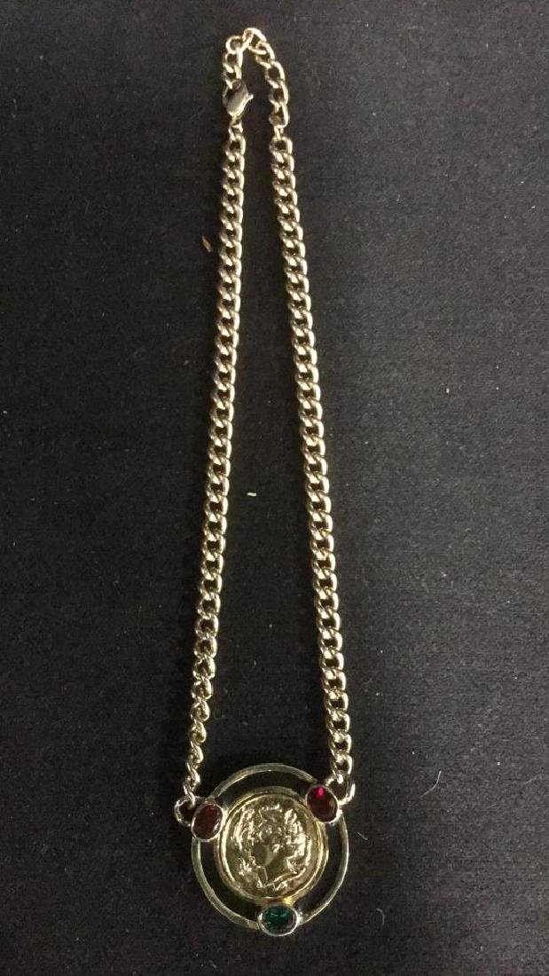 Vintage Versace Era C 80-90's Necklace - 10