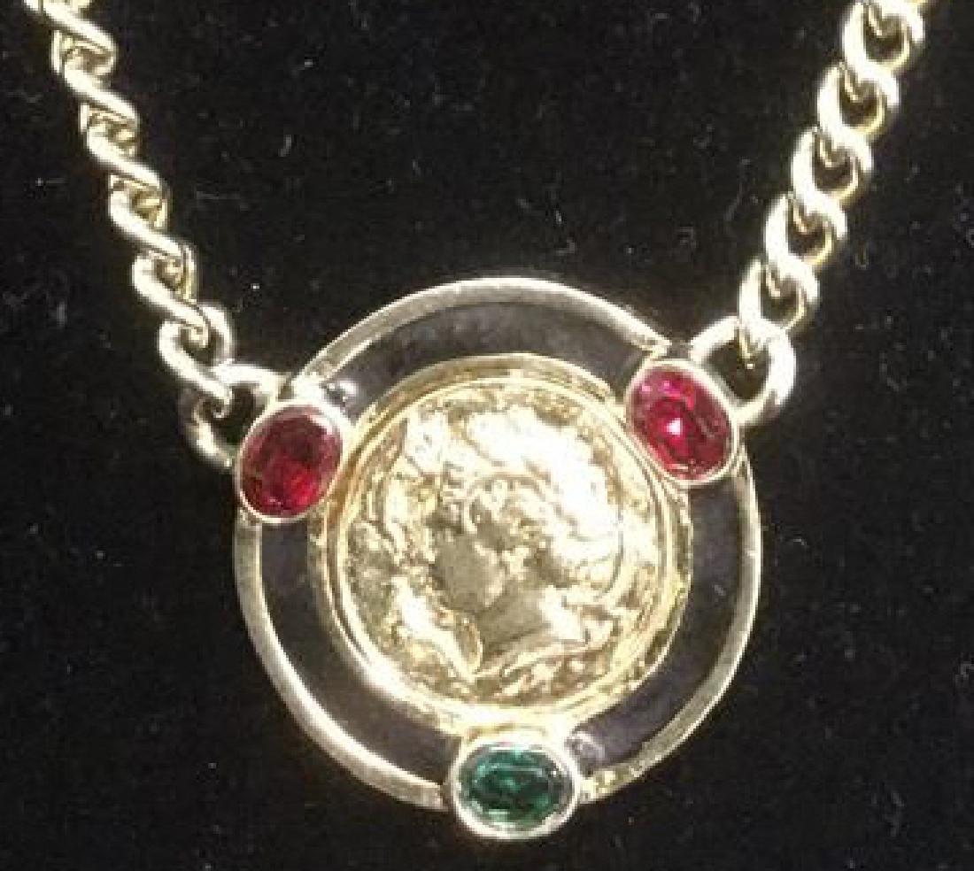 Vintage Versace Era C 80-90's Necklace
