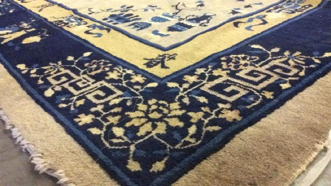 Chinese Art Deco Wool Rug - 10